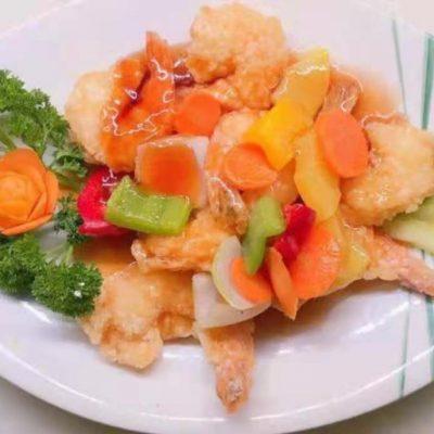 Crevettes aigre-doux