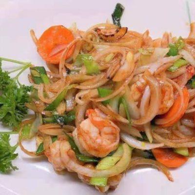 Crevettes piquant Sichuan