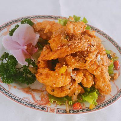 Crevettes frits impériales