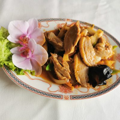 Canard piquant Sichuan