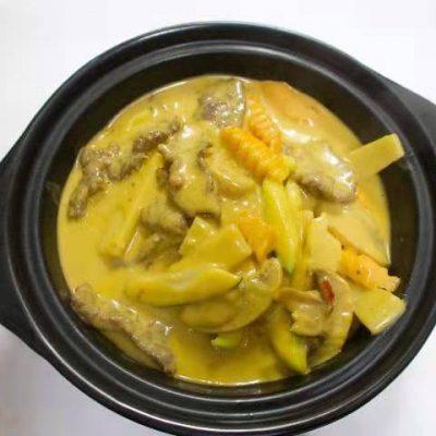 Bœuf au curry jaune
