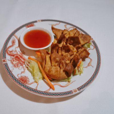 Raviolis frits Yun Tun